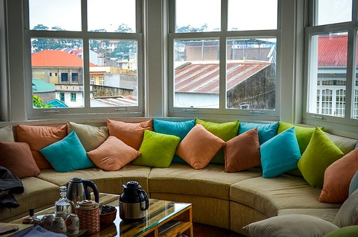 coloured pillow cases